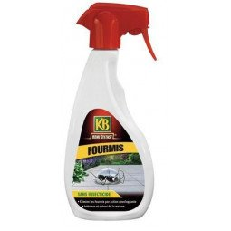 Fourmis sans insecticide prêt à l'emploi KB 500ml