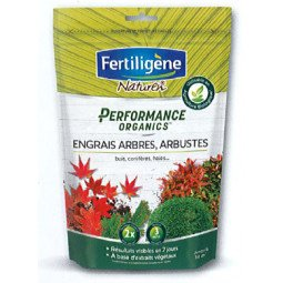 Engrais arbres, arbustes, buis, conifères Performance Organics FERTILIGENE 700G