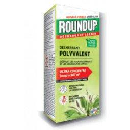 Désherbant jardin polyvalent action 2 en 1 (mauvaises herbes et mousses) RONDUP 200ml