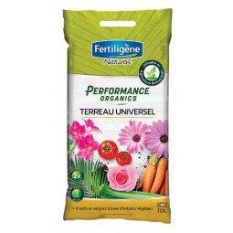 Terreau universel Perfomance Organics FERTILIGNE 10L