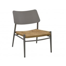 Chaise Lounge Dublin taupe/paille