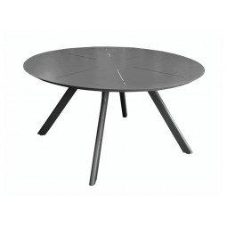 Table ronde Seven 150 cm graphite