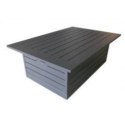 Table basse Castille gris