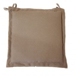 Coussin Galette Garden taupe