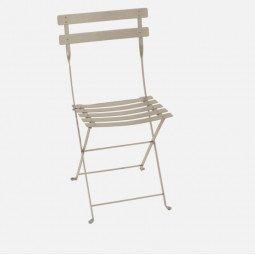 Chaise métal Bistro muscade FERMOB