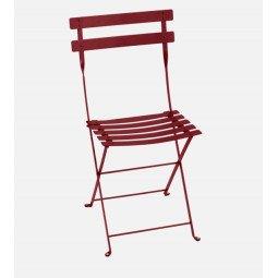 Chaise métal Bistro piment FERMOB
