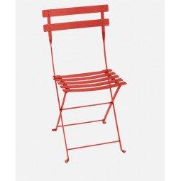 Chaise métal Bistro capucine FERMOB