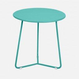 Table d'appoint Cocotte bleu lagune FERMOB