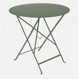 Table métal Bistro Ø77cm cactus FERMOB