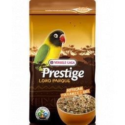prestige loro parque african parakeet mix 1kg